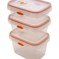 Rectangular Foodcontainer PP with valve